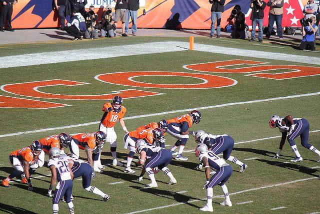 New England Patriots Quarterback Rivalry Game Against the Denver Broncos