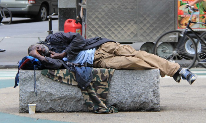 New York Governor Orders Homeless Off Streets During Freezing Weather