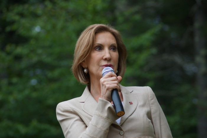 Republican Carly Fiorina Has Suspended Presidential Campaign