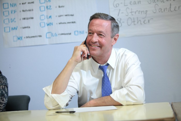 Martin O'Malley Suspends His Presidential Bid