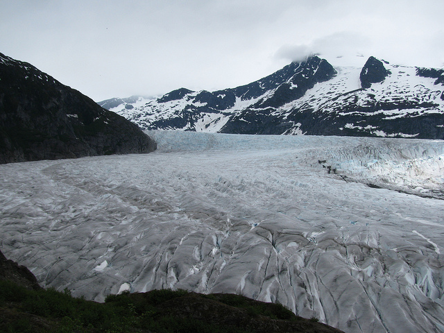 Juneau Icefield Is Disappearing Slowly