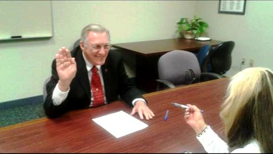 Tom Jones Files to Run for the United States Senate