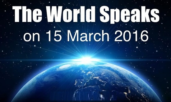 World Speech Day Filled With Unexpected Voices