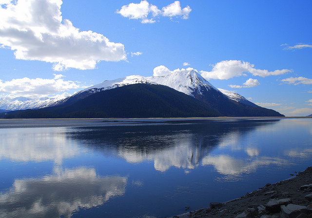 Alaska and the Home of Mount Pavlof