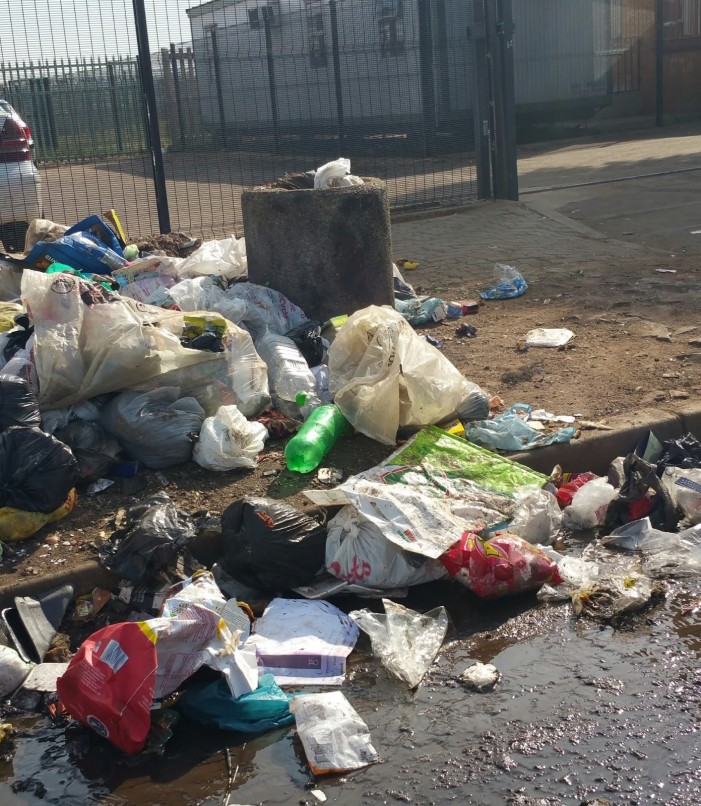 Johannesburg a Rubbish Dump With Plague-Ridden Rats