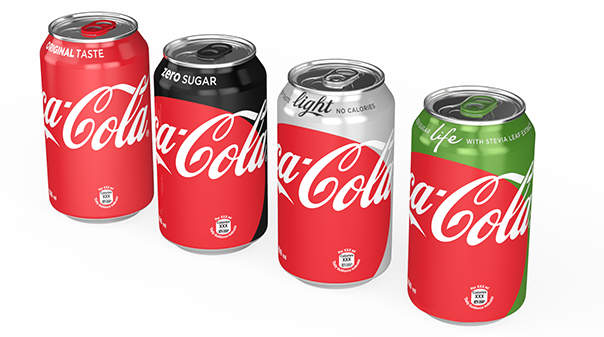 Coke Reveals New Look and Disappearing Brands