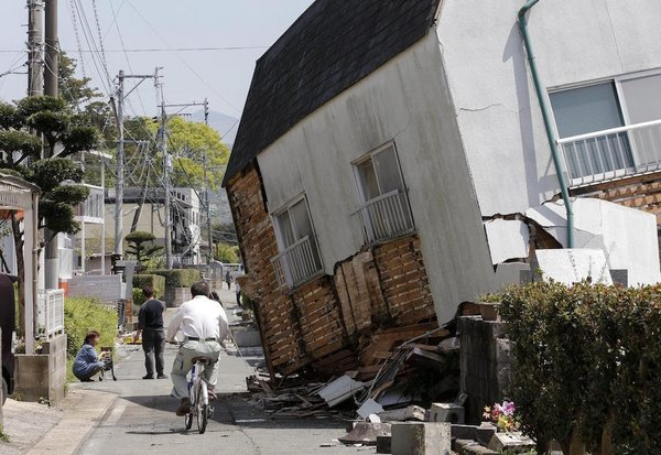 Kumamoto-shi, Japan Hit With 7.1M Earthquake