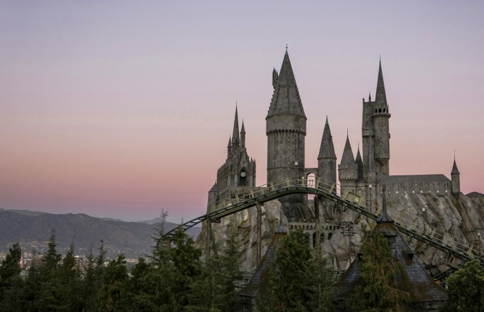 Magical Atmosphere at Universal Hollywood Wizarding World of Harry Potter Opening