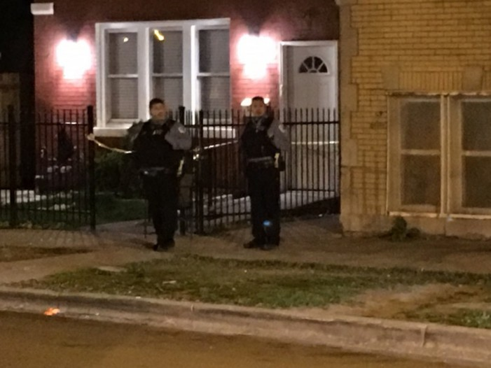 Chicago 15-Year-Old Black Female Shot While Standing With Friends [Video]