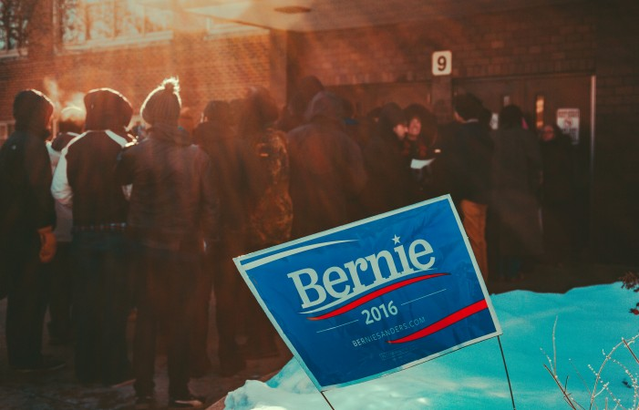 Bernie Sanders Is the People's Front-Runner