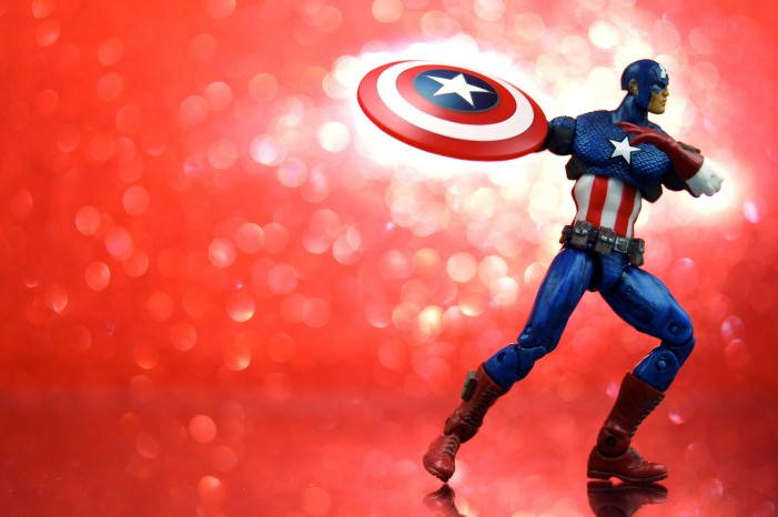 Captain America Through the Years
