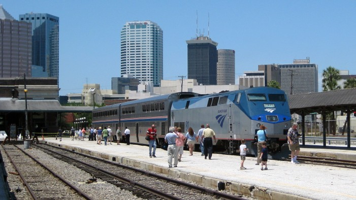 Amtrak Undergoes Upgrades