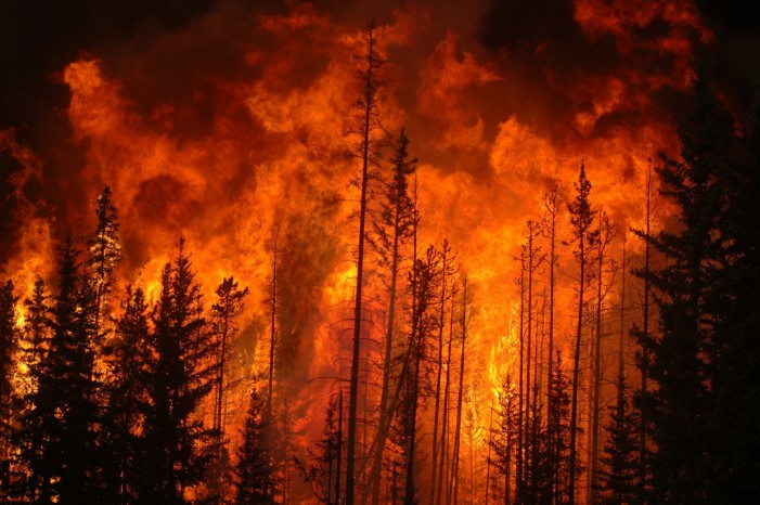Fort McMurray Residents Airlifted to Escape Wildfire