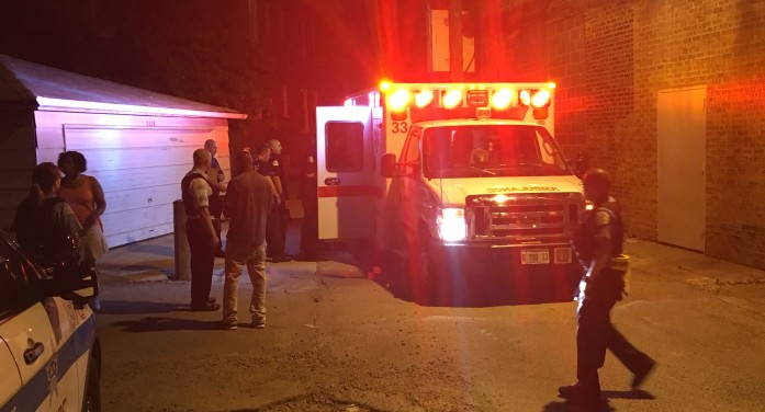 Two Men Enjoying Nice Evening Wounded in North Lawndale Shooting [Video]
