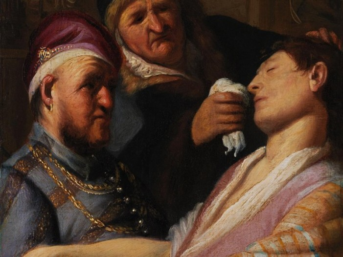 Long-Lost Rembrandt on Display at Getty