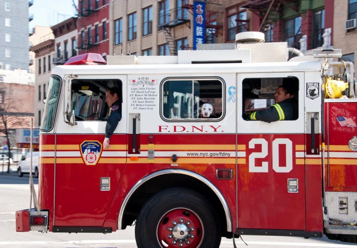 10 Injured After New York Fire Truck Crashes Into Bus [Updated]