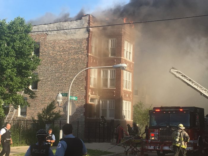 Residential Building Fire After Family Celebration in Chicago