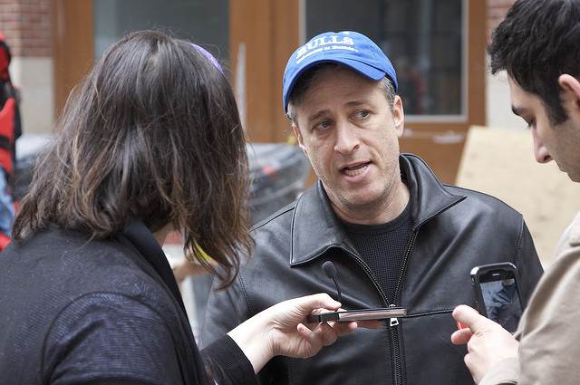 Jon Stewart Took Over 'Late Show' to Go on 'Daily Show' Rant