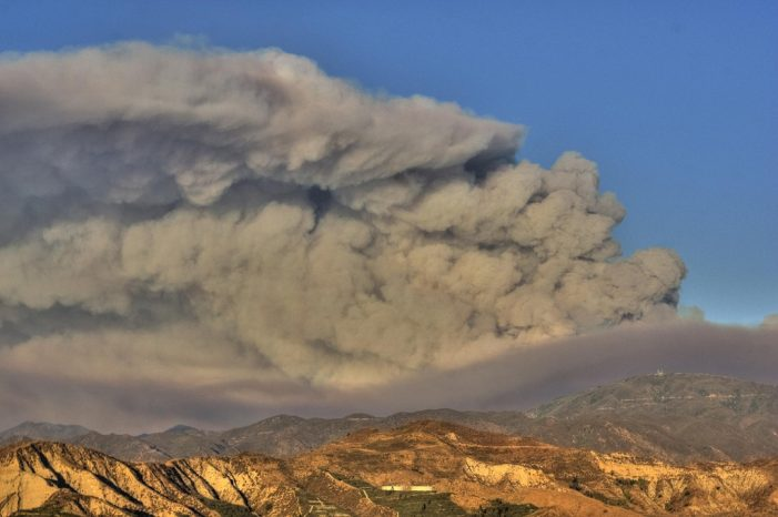 Fire in Southern California Burns 5,500 Acres