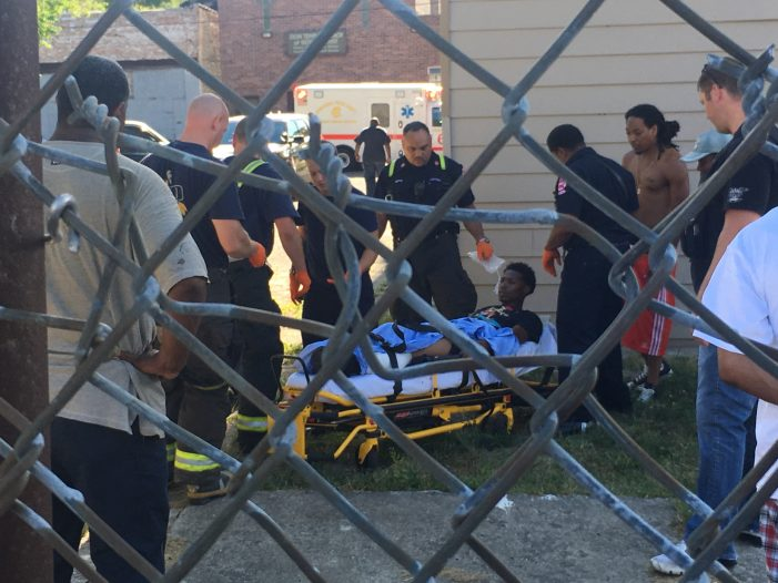 Young Black Man Shot in North Lawndale Chicago [Video] [Update]