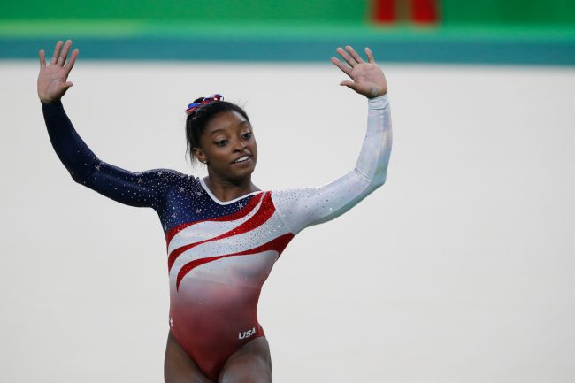 Nadia Comaneci hails ideal 10 from Simone Biles