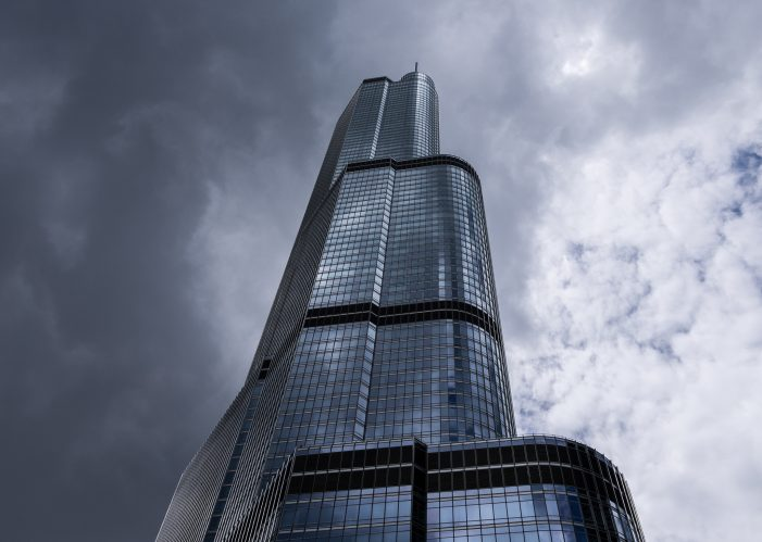 Trump Tower Riskily Ascended by Young Man
