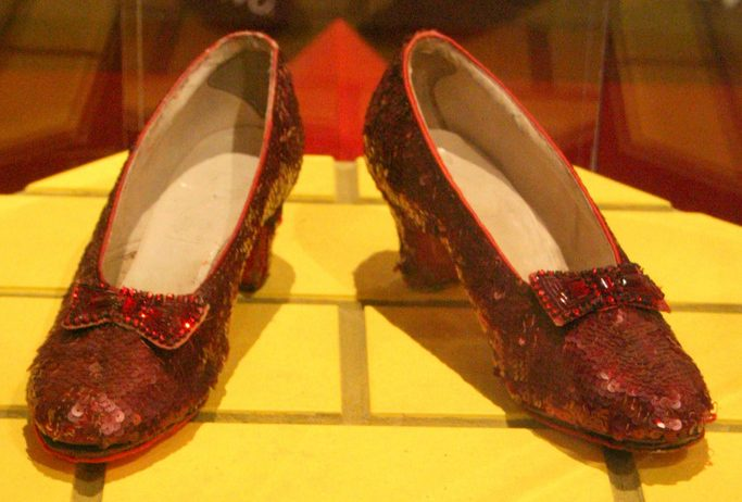 Dorothy's Ruby Red Slippers Surrender Smithsonian Space to Indiana Jones