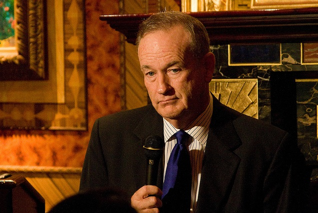 In a Strange Twist Bill O'Reilly Is Uncovered but Censored