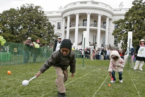 Trump White House Scrambles Easter Egg Roll and Other Roles