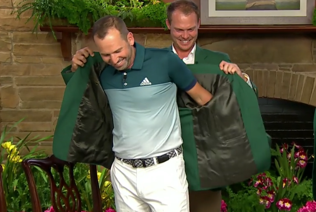 The Masters Green Jacket Goes to Sergio Garcia