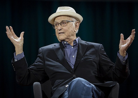 Norman Lear Calls Trump the Middle Finger of Right Hand America