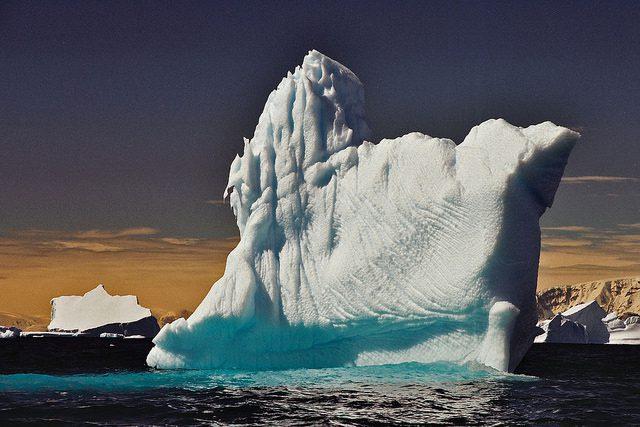 Iceberg Split From the Larsen C Ice Shelf