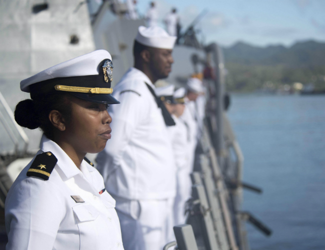 Navy Women Gain New Fashion Say and Acceptance