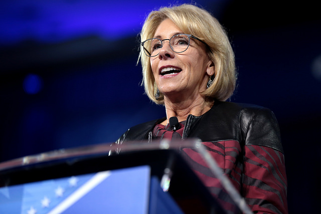 Teacher Criticizes Betsy DeVos for Reaction to Charlottesville