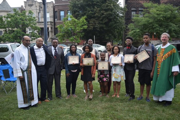 The News School Graduates Certified and Credentialed Cub Reporters Thru the City of Chicago One Summer Jobs!