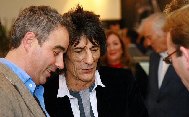 Rolling Stones Guitarist Ronnie Wood Battled Lung Cancer