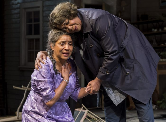 Phylicia Rashad Storms Through Soggy 'Head of Passes' in LA