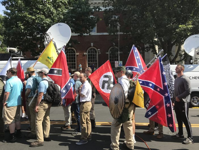 Charlottesville Taken Over by White Nationalists in Protest