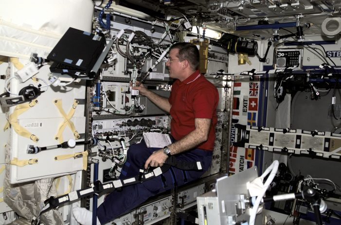 Astronauts Study Microbes on the International Space Station