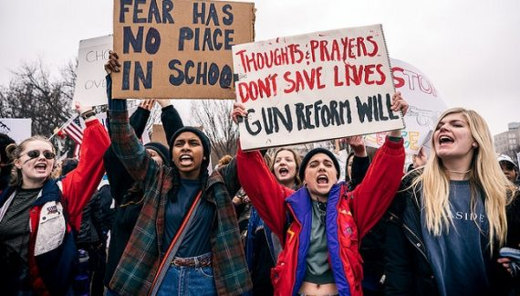 A Child Shall Lead Them #MarchForOurLives