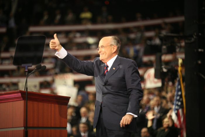 Rudy Giuliani Talks About Payment to Stormy Daniels