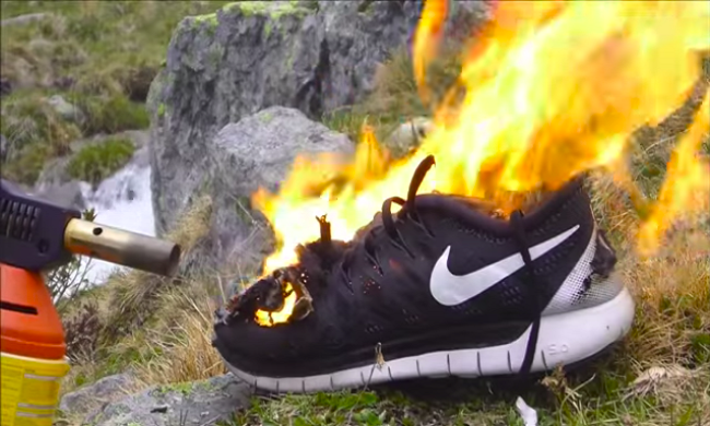 This Is Why Nike Does Not Care If People Burn Their Shoes
