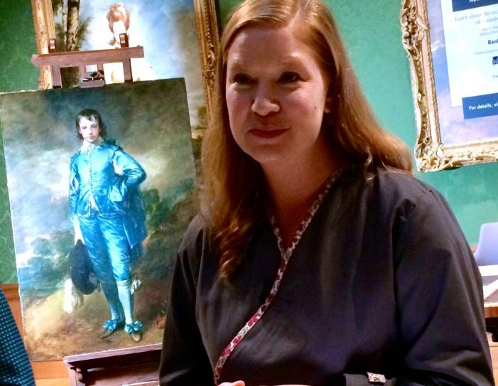 Huntington Puts 'Blue Boy' Restoration Project on Display
