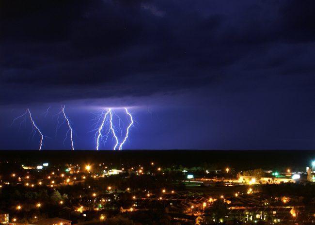 Category 3 Hurricane Michael Surges Towards Florida's Gulf Coast