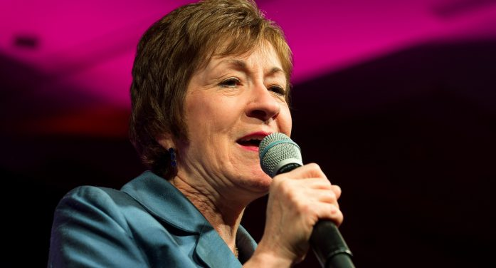 Senator Susan Collins Recieves Threats of Death and to Have Her Honorary Degree Rescinded