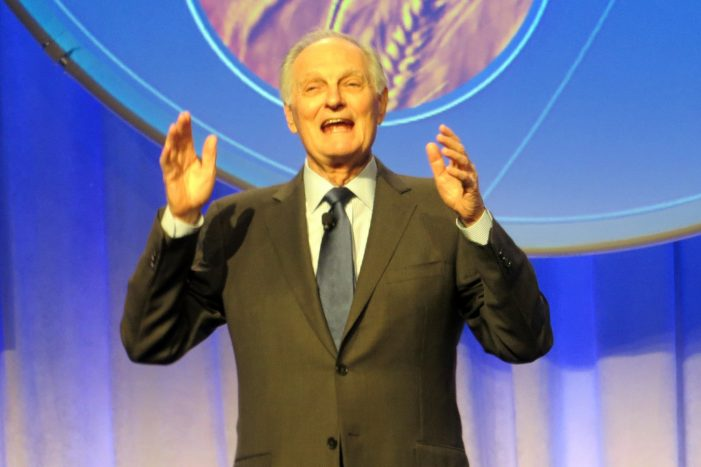 Alan Alda Discusses His Parkinson's Diagnosis and His Secret to Life