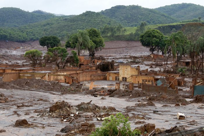 Brumadinho Dam Collapses 34 Dead Up to 300 Missing