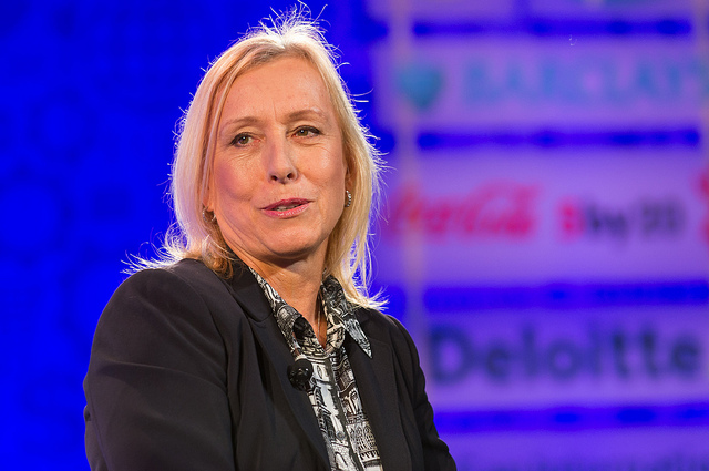 Martina Navratilova Fired From LGBT Sports Group Over Transgender Comments