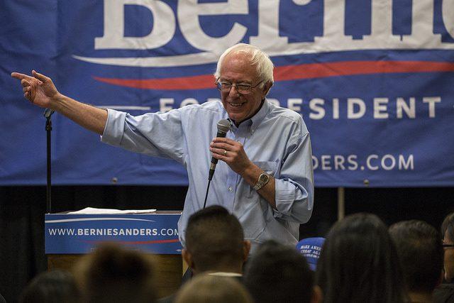 Bernie Sanders Announces He Is Running for President Again in 2020