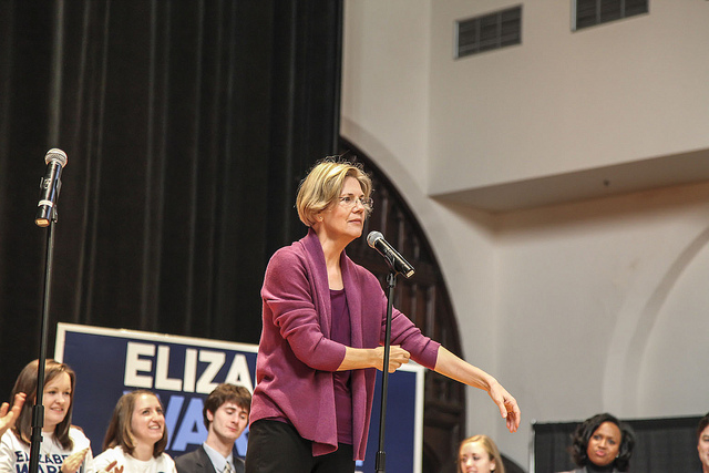 Elizabeth Warren  Kicks Off Her Presidential Campaign From Massachusetts
